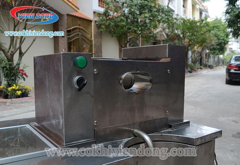 Máy ép nước mía 2 cây X4 - 500