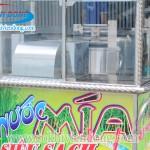 Bộ sản phẩm máy ép nước mía đóng cốc