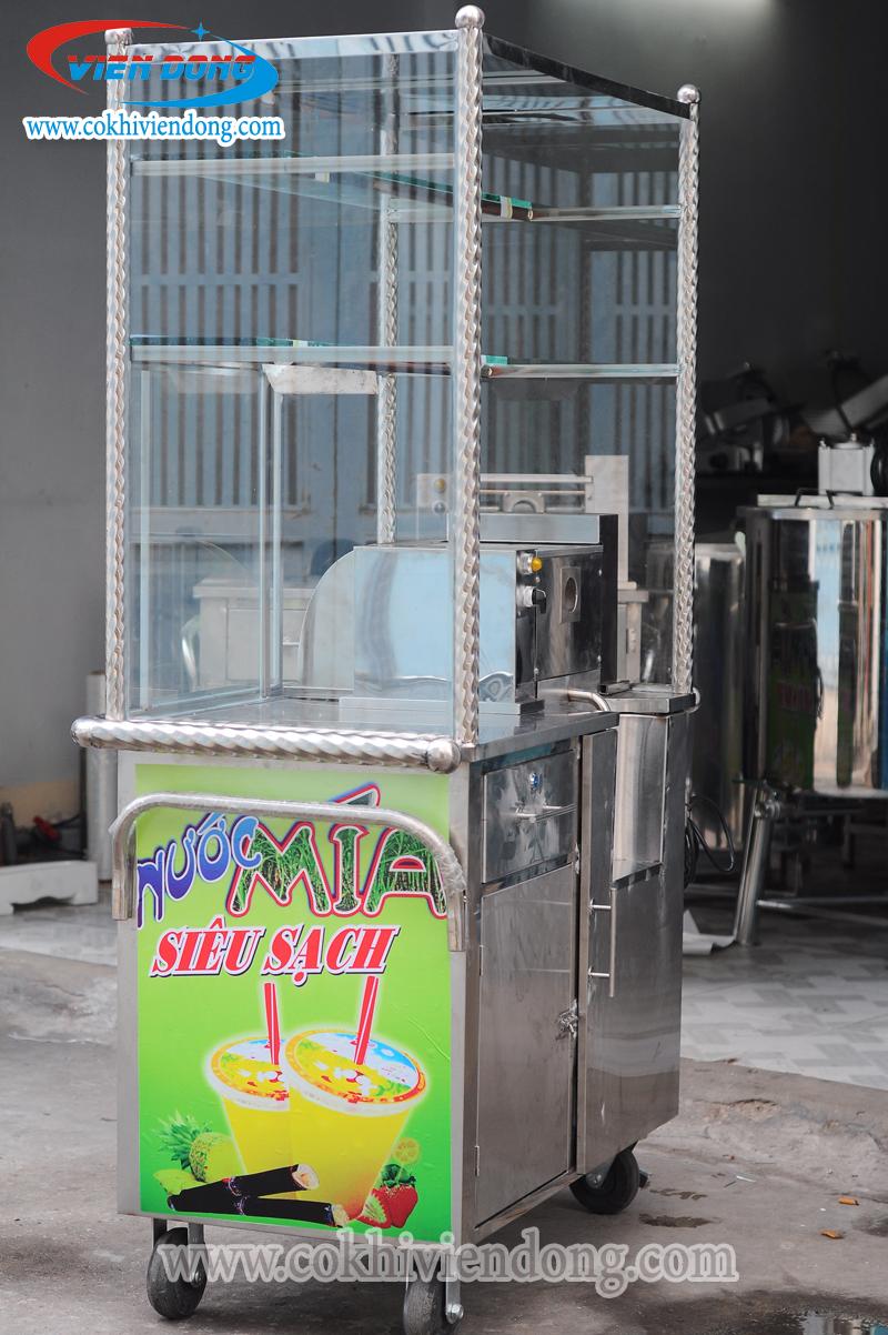 Xe nước mía có kính X2K - 500