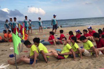 Những trò chơi teambuilding không nên bỏ lỡ khi ởVilla FLC Sầm Sơn