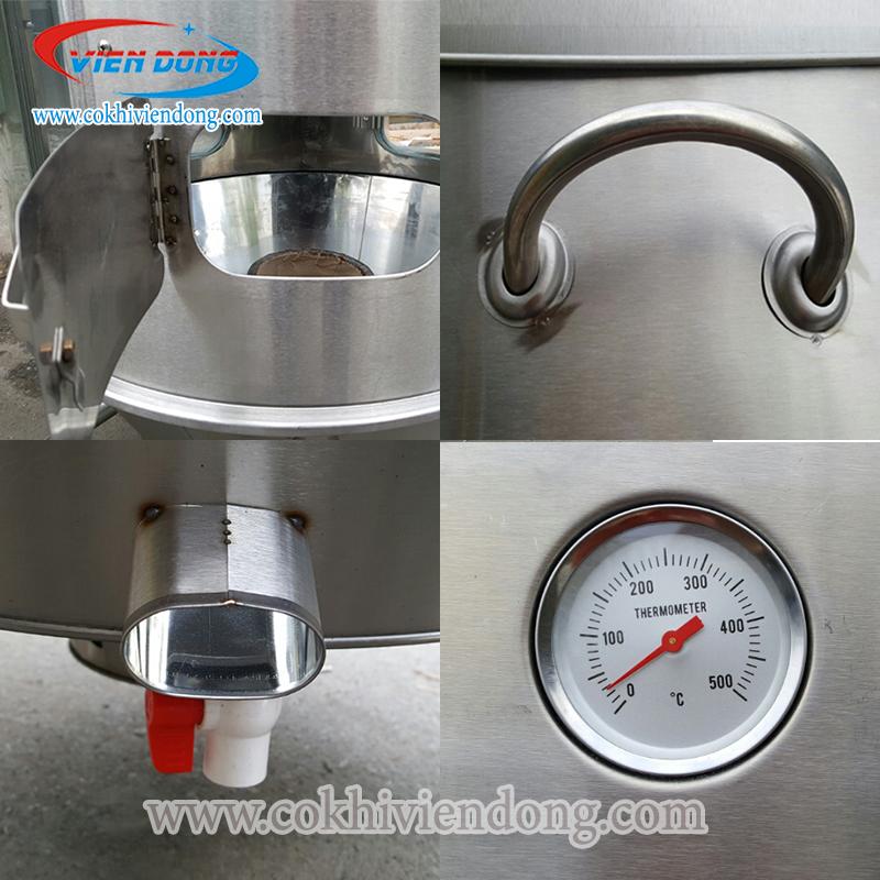Đồng hồ đo nhiệt lò quay vịt inox