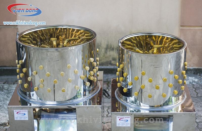 inox 304 sử dụng cho máy vặt lông gà Việt Nam