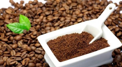 bột cafe được xay bởi máy xay cafe hạt mini
