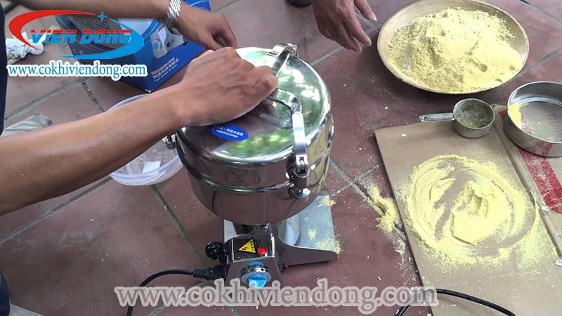 máy xay bột khô gia đình mini