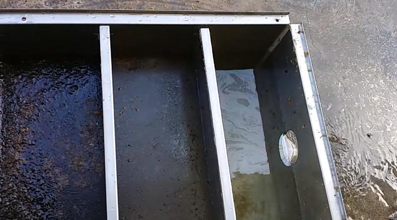 lắp đặt thùng lọc mỡ