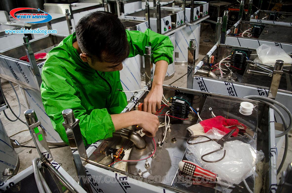 bảo hành máy móc tại Viễn Đông