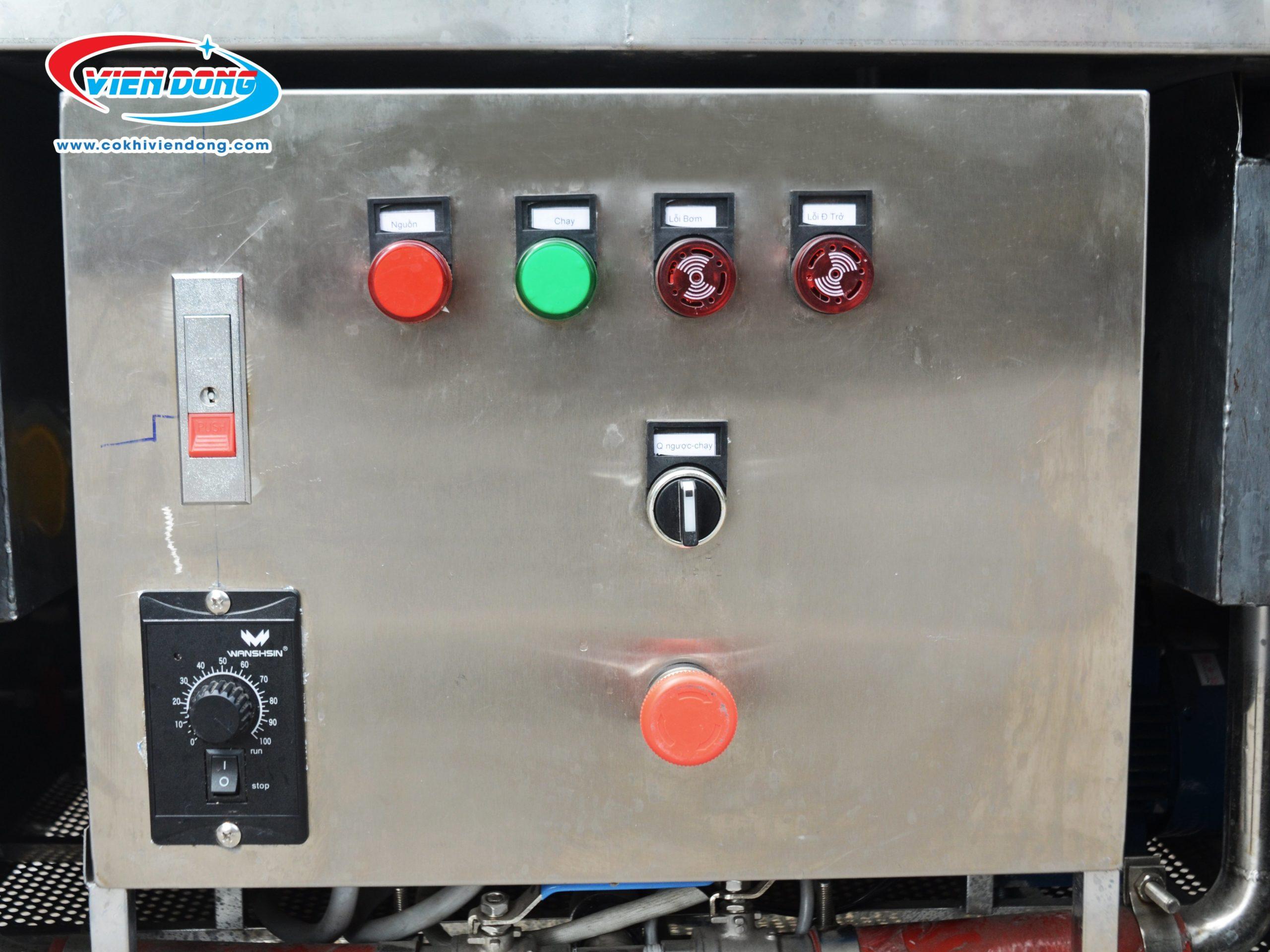 Bảng điều khiến máy rửa chén bát