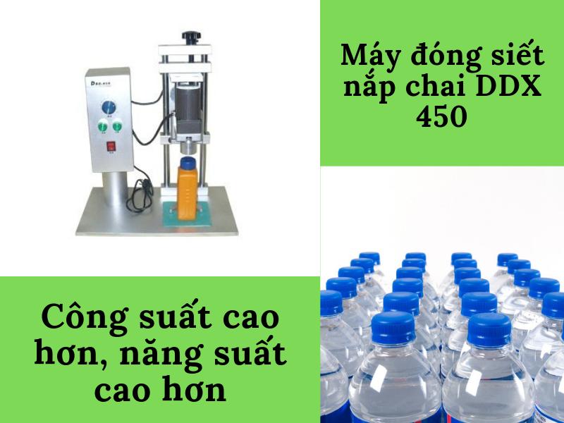 Năng suất máy đóng nắp chai